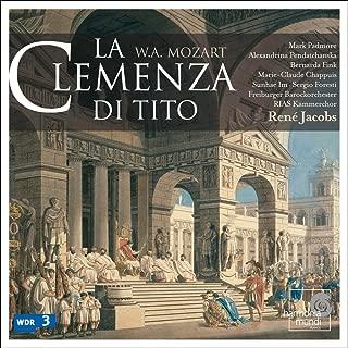Mozart - La clemenza di Tito / Padmore, Pendatchanska, Fink, Chappuis, Im, Foresti, RIAS, Freiburg, Jacobs