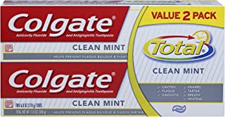 Colgate Total Clean Mint Toothpaste - 12 ounce (Twin Pack)