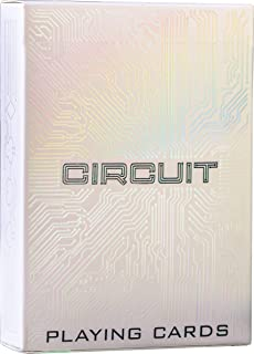 Circuit Playing Cards, Deck of Cards, Premium Card Deck, Best Poker Cards, Unique Bright Colors for Kids & Adults, Computer Themed, Black Playing Cards …