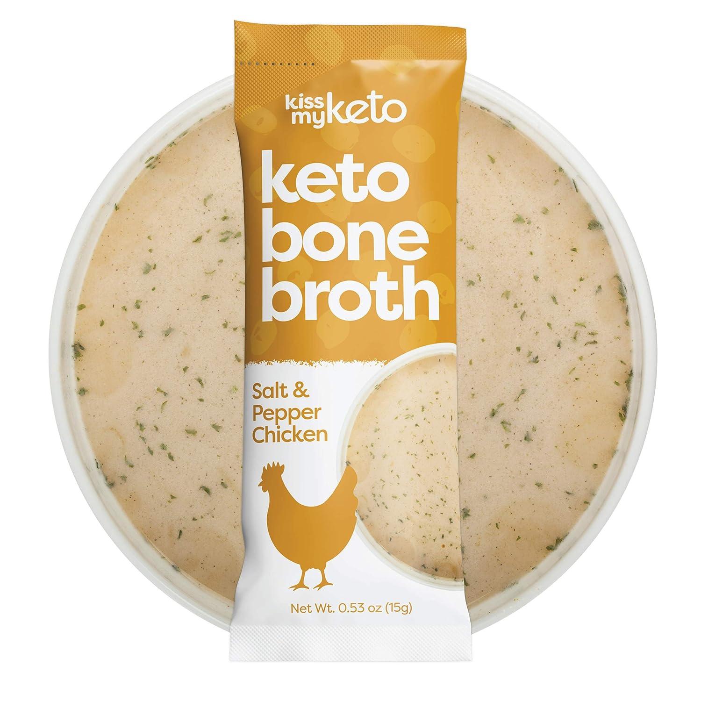 Kiss My Keto Chicken Bone Broth Powder Travel Packets — Col