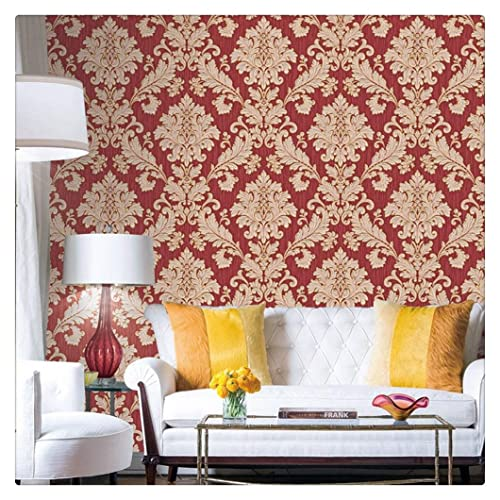 Red Wallpaper: Amazon com