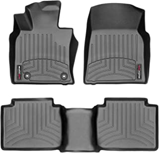 WeatherTech Custom Fit FloorLiner for Toyota Camry - 1st & 2nd Row (Black)