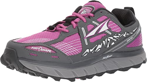 Altra Femmes Lone Pic 3.5 Chaussures Course - Pourpre, 8 UK