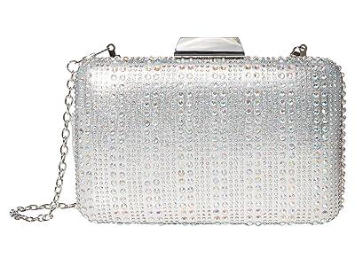 Jessica McClintock Radlee (Silver) Clutch Handbags