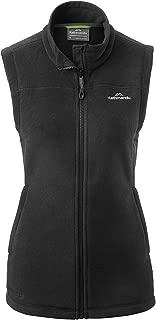 Kathmandu Trailhead Women's High Collar Full Zip Warm Winter Fleece Vest