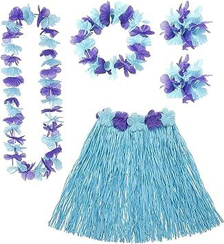 WIDMANN Widman - Disfraz de hawaiana para mujer
