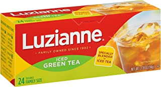Luzianne Iced Green Tea Bags, Family Size, 24 Count