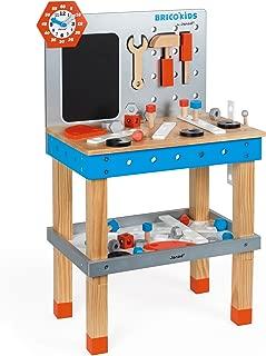 Janod J06477 Brico Kids DIY Giant Magnetic Workbench Game