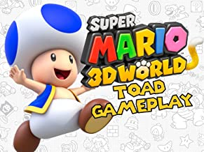 Super Mario 3D World Toad Gameplay