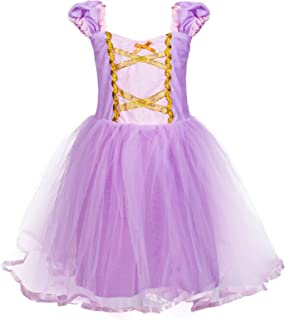 Princess Mermaid Dress Costume for Baby Toddler Girl