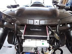 Kawasaki Vulcan Vaquero and Voyager Amp Mount Rockford Fosgate PBR400X4D Amp or Pbr300x2 or Pbr300x4