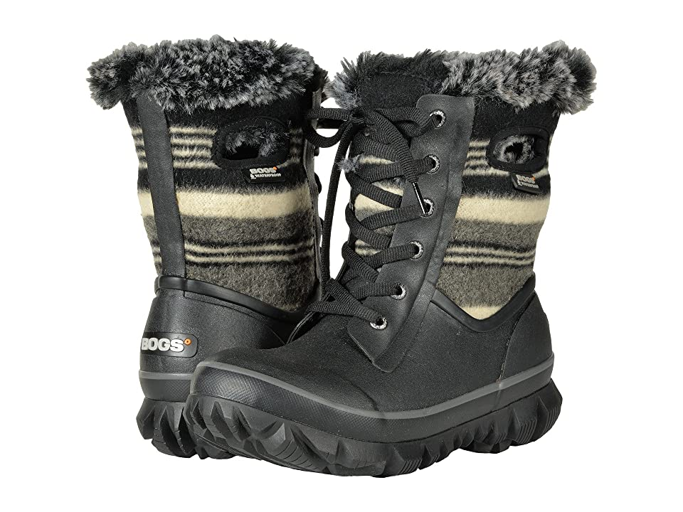 Bogs Arcata Stripe (Black Multi) Women