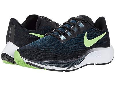 Nike Air Zoom Pegasus 37 (Black/Ghost Green/Valerian Blue) Men