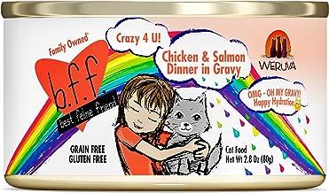 Weruva B.F.F. OMG - Best Feline Friend Oh My Gravy! Grain-Free Wet Cat Food Cans
