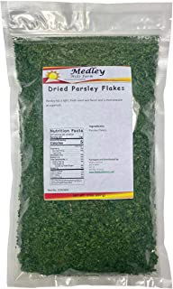 Dried Parsley Flakes by Medley Hills Farm 8 oz Bulk Spices