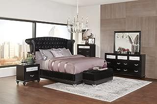 Best barzini black upholstered bed Reviews
