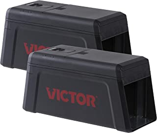 Victor M241SR-2 Electronic Rat Trap-2 Pack, Black