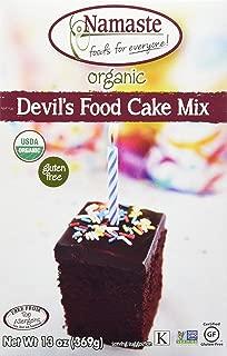 Namaste Foods Organic Gluten Free Devil's Food Cake, 13 Ounce