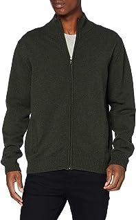 Armor Lux Men's Zippé Cardigan Sweater