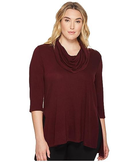 Karen Kane Plus Plus Size Cowl Neck Side Slit Sweater At 6pm
