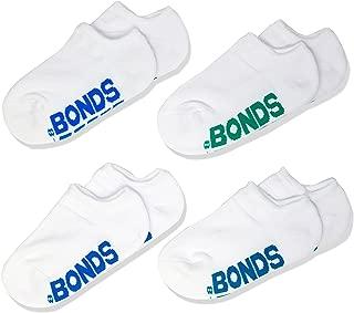 Bonds Kids Logo No Show Socks (4 Pack)