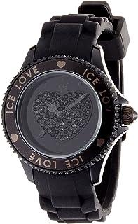 Ice-Watch Ice- Love Black Unisex Silicone Watch LO.BK.U.S.10