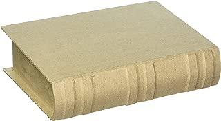 Bulk Buy: Darice DIY Crafts Paper Mache Book Box 7-3/4 x 5-1/2 x 1-3/4 in (2-Pack) 2824-74FCAM