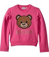 Moschino Kids - Sweatshirt w/ Strass Toy Bear (Big Kids)