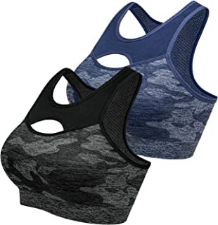 ZeroBound Women's Racerback Sports Bras Activewear Bra