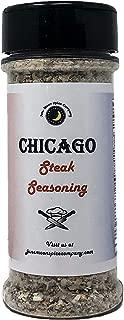 Premium | CHICAGO Steak Dry Rub Seasoning | Large Shaker | Calorie Free | Fat Free | Saturated Fat Free | Cholesterol Free | Sugar Free