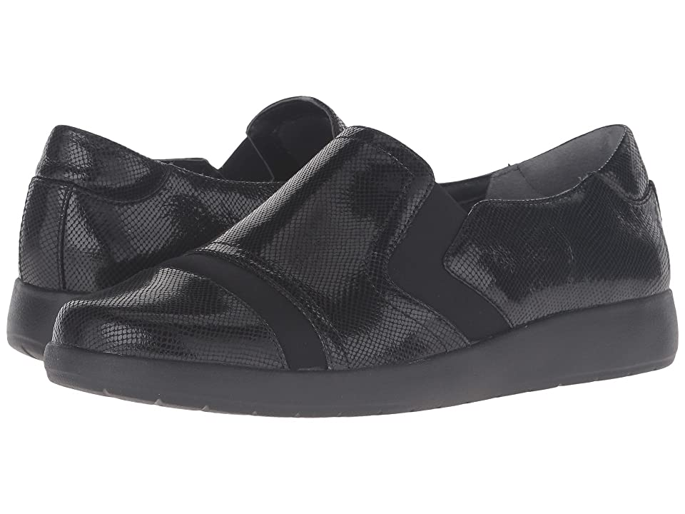 Rockport Devona Demsa (Black Shiny Leather) Women