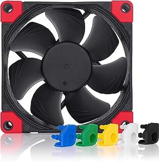 Noctua NF-A8 PWM chromax.black.swap, Premium Quiet Fan, 4-Pin (80mm, Black)