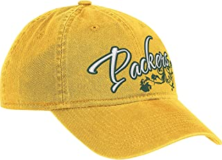 NFL Women's Fan Gear Team Color Slouch Adjustable Hat - EQ58W, Green Bay Packers, One Size Fits All