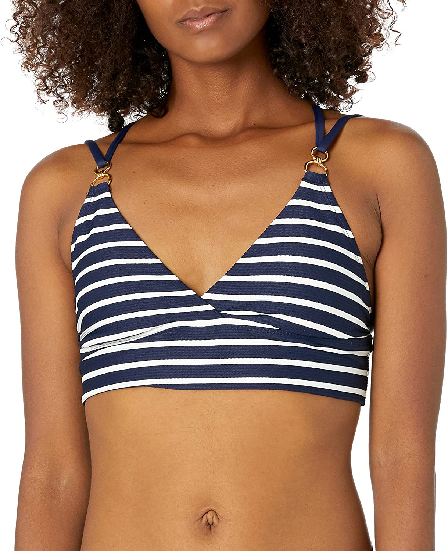 La Blanca Women's Standard Strappy Back Midkini Swimsuit Top