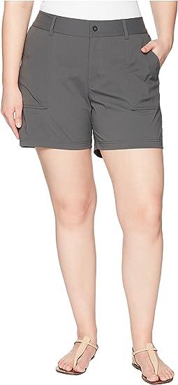 Columbia Plus Size Silver Ridge Stretch Shorts II