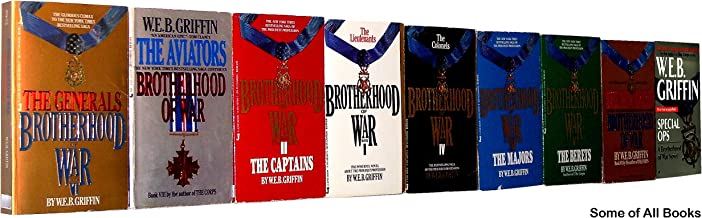 Brotherhood of War (COMPLETE 9-Book Set, 1. The Lieutenants; 2. The Captains; 3. The Majors; 4. The Colonels; 5. The Beret...