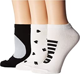 Jump for Joy 3-Pack No Show Socks