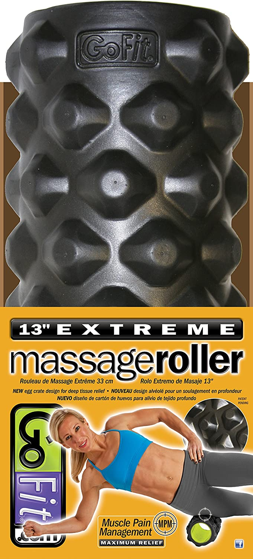 GoFit Extreme Massage Go Roller  Massage Bar and Training Manual