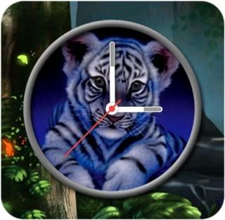 Tiger Clock Live Wallpaper