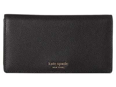 Kate Spade New York Medium Bifold with Card Holder (Black) Wallet Handbags
