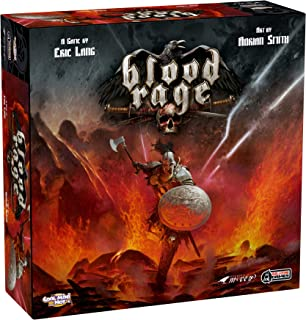 CoolMiniOrNot BLR001CMON Blood Rage Board Game: Core Game Box - Multicolore