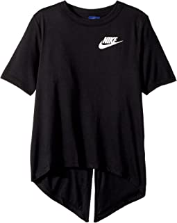Sportswear Split Short Sleeve Top (Little Kids/Big Kids)