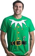 Santa's Elf Costume   Jumbo Print Novelty Christmas Holiday Humor Unisex T-Shirt
