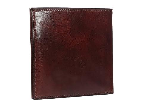 oscuro Bosca Collection Passcase Leather Old marrón crédito cuero Cartera de identificación con de qqFg7Zycw