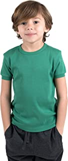 Leveret Short Sleeve Boys Girls Kids & Toddler T-Shirt 100% Cotton (2-14 Years) Variety of Colors