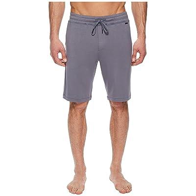 Hanro Living Relax Shorts (Slate Gray) Men
