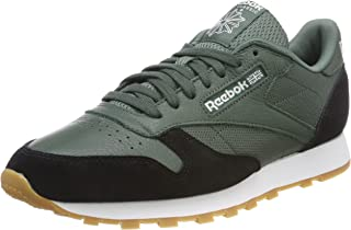 3eabfba540be7 Amazon.fr   reebok classic leather homme - Vert