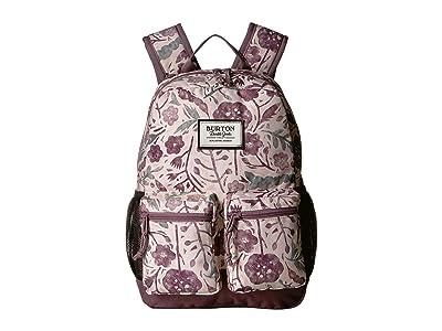 Burton Kids Gromlet Pack (Little Kid/Big Kid) (Etched Flowers Print) Backpack Bags