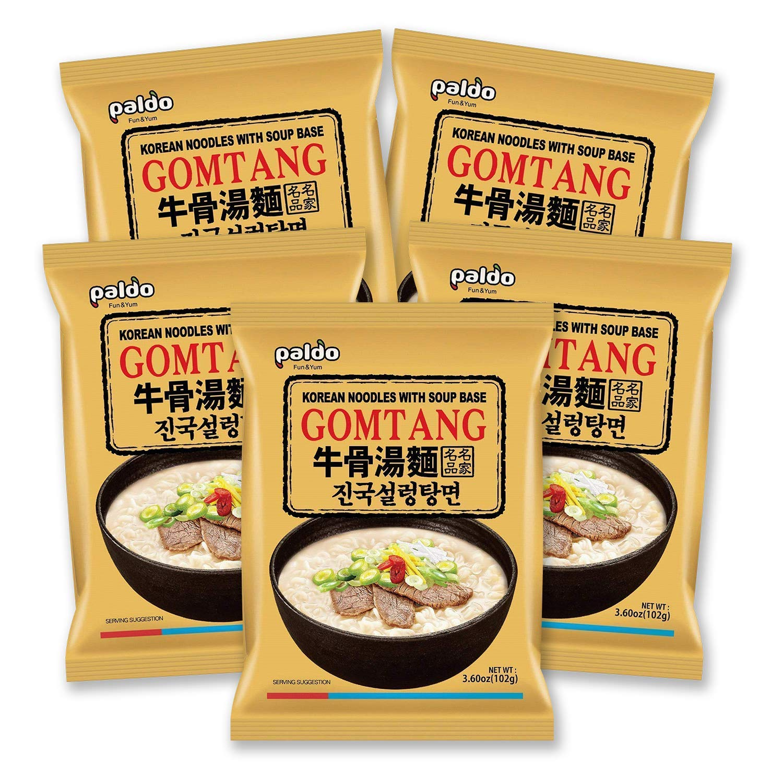 Paldo Korean Ramen Family Pack (Gomtang)