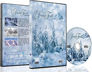 Winter DVD - Snowfall - Winter Scenery of Mountains and Forest with Falling Snow with Relaxing Natural Sounds Perfect for Those Long Winter Evenings